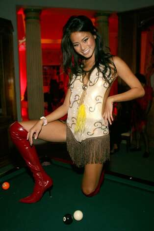 Jamie Chung, of movies ''Sucker Punch'' and ''Hangover Part II,'' in 2006. Her birthday is April 10.