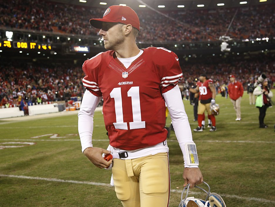 Alex Smith gave his all - off the field, too