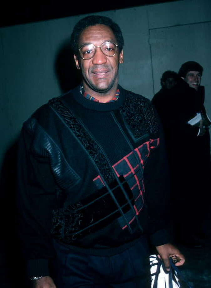 Cosby prepares to be transported into the virtual world from TRON in this 1986 photo. Photo: Ron Galella, Ltd., WireImage / Getty Images