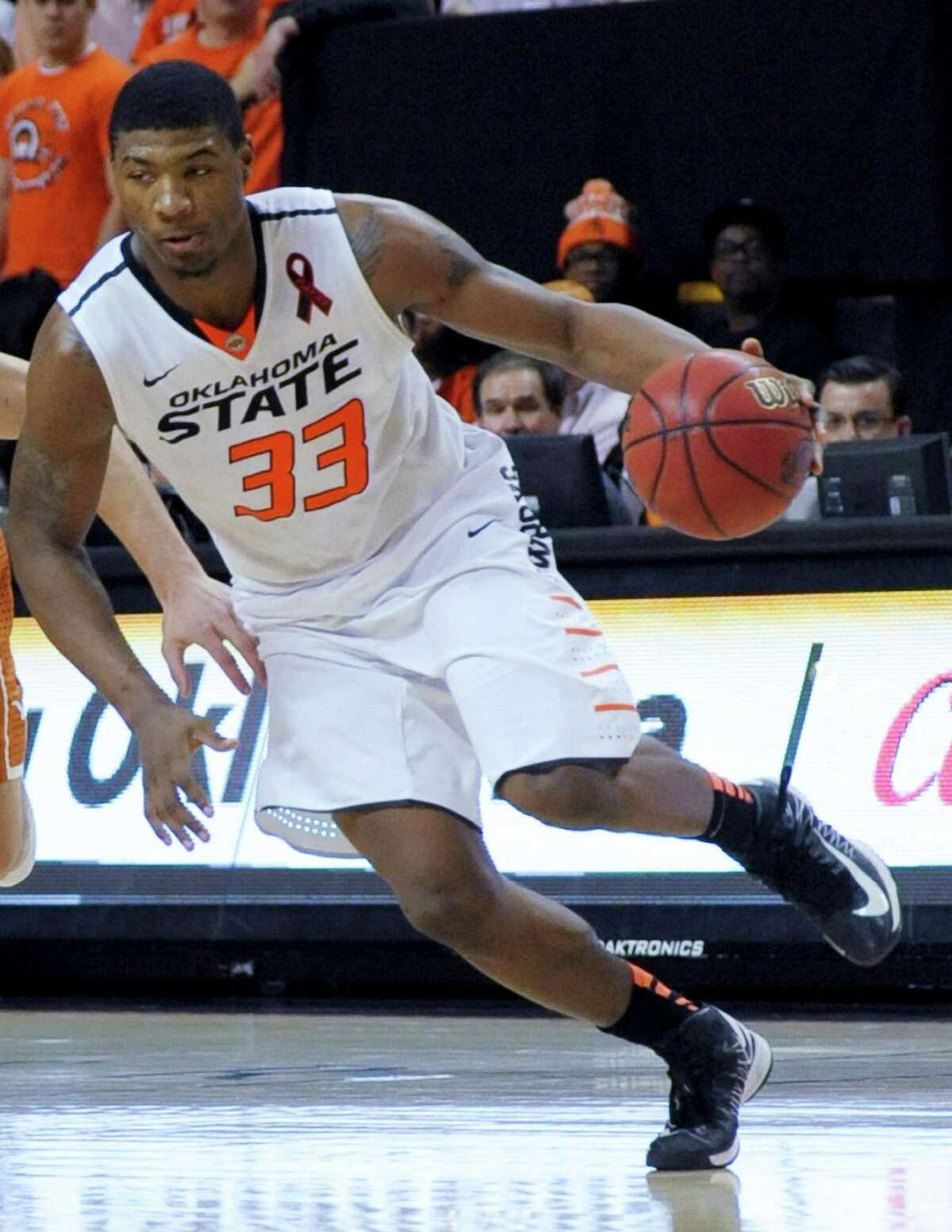 Player and Freshman of the Year: Marcus Smart, Oklahoma State - The conference's best all-around player was a force from his first game. He led the conference in steals, was fifth in field-goal percentage, sixth in scoring and assists and 15th in rebounds. And he also finished as our choice for Freshman of the Year in a league stacked with some good ones this season.PHOTO: Smart during the second half against Texas in Stillwater, Okla., March 2, 2013. Oklahoma State won 78-65.