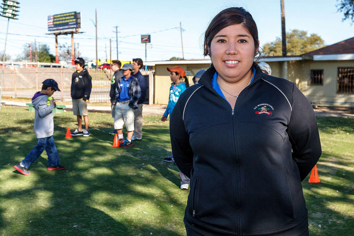 Former LPGA player Christi Cano, now director of player development for the Alamo City Golf Trail, says