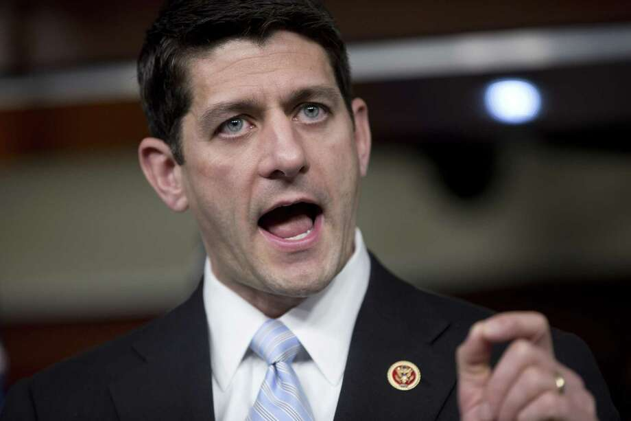 House Budget Committee Chairman Rep. Paul Ryan, R-Wis., proposes $4.6 trillion in spending cuts, largely by rolling back President Barack Obama's legislative gains. Photo: Carolyn Kaster, Associated Press