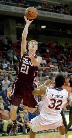 Alex Caruso's 60 steals are a single-season record for an Aggies freshman.