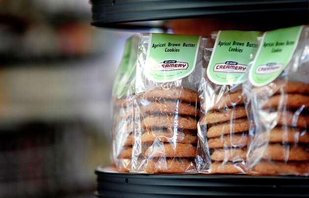 Apricot brown butter cookies for sale at  the new Bi-Rite market at 550 Divisadero on Tuesday, March 12. Photo: Beck Diefenbach, Special To The Chronicle / ONLINE_YES
