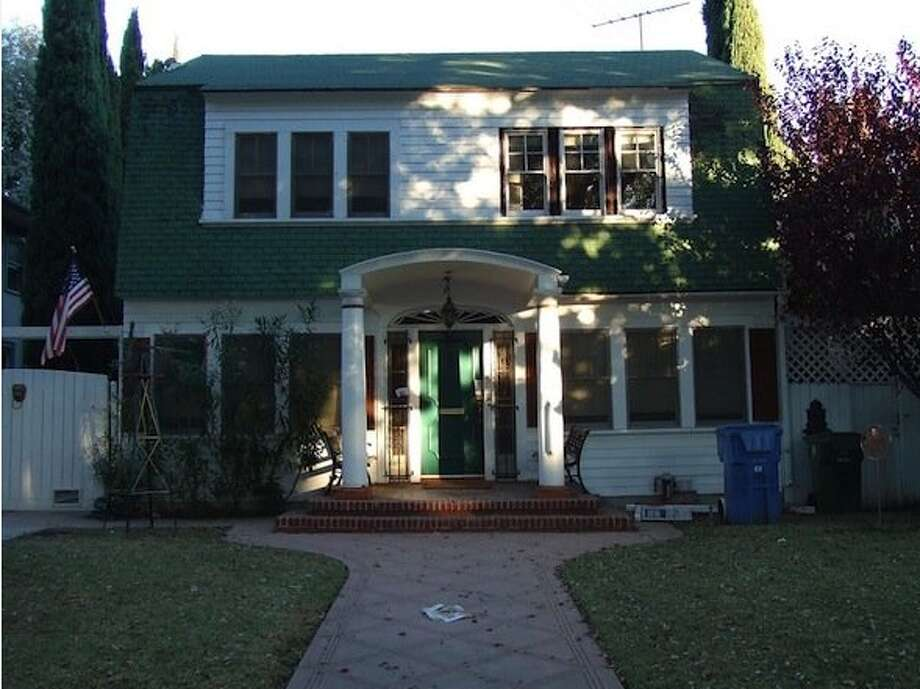 The Nightmare on Elm Street home before renovations began