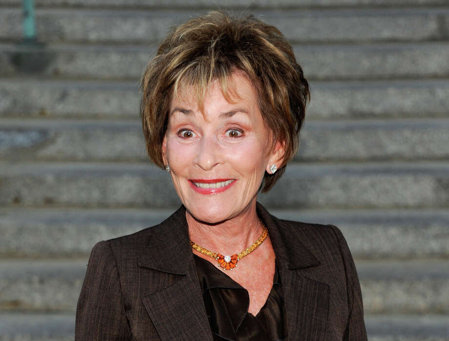 Judge Judith Sheindlin, TV's acerbic Judge Judy, may find herself on the other side of the courtroom if a lawsuit against her over $500,000 in fine china reaches trial. The ex-wife of her show's producer is claiming that the TV judge, who lives in Greenwich, conspired with the producer to keep her from getting a fair share of the divorcing couple's community property. Photo: Evan Agostini, Associated Press / AGOEV