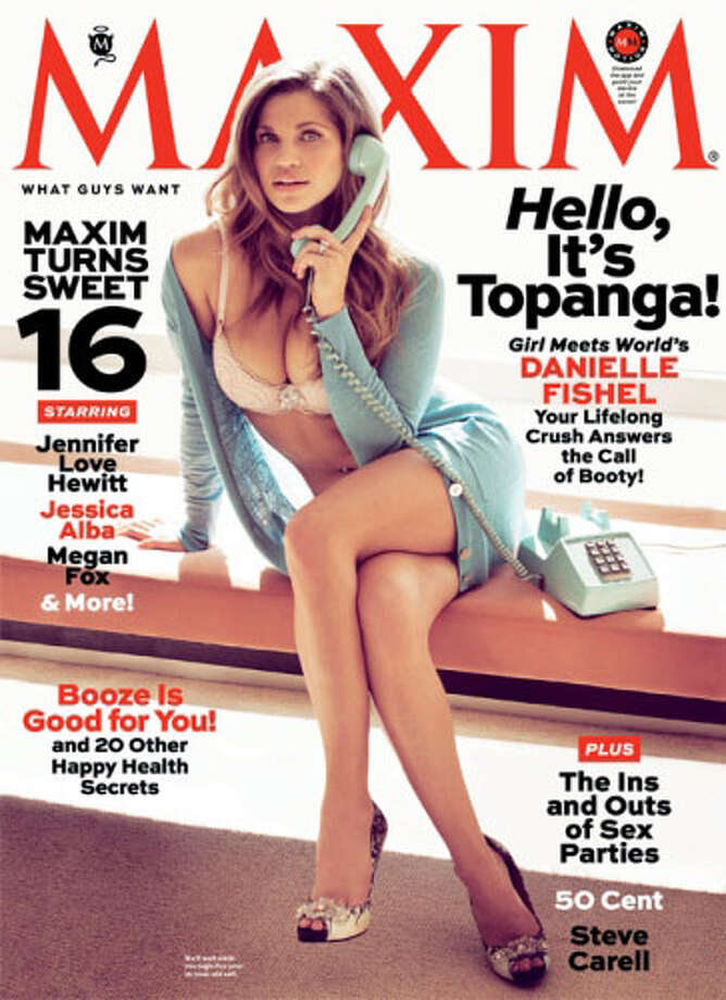 Here is Danielle Fishel looking very grown up in Maxim. (Credit: Maxim Magazine)