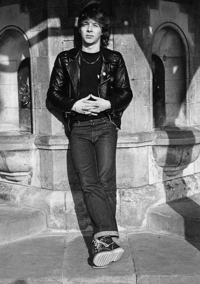 Clive Burr, posed, in 1980. Photo: Virginia Turbett, Redferns / Redferns