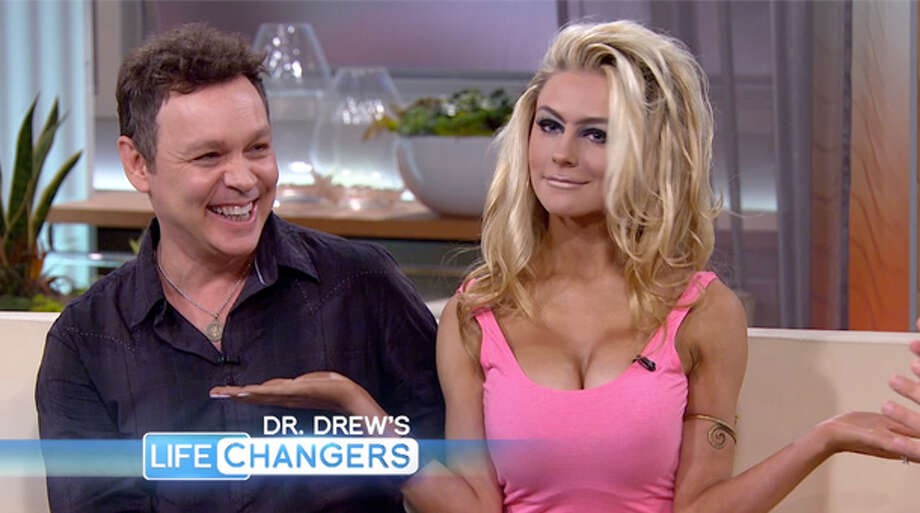 These guys are literally an oldster-babe couple. Actor Doug Hutchison, 52, and Courtney Stodden, now 18, got married when she was 16.