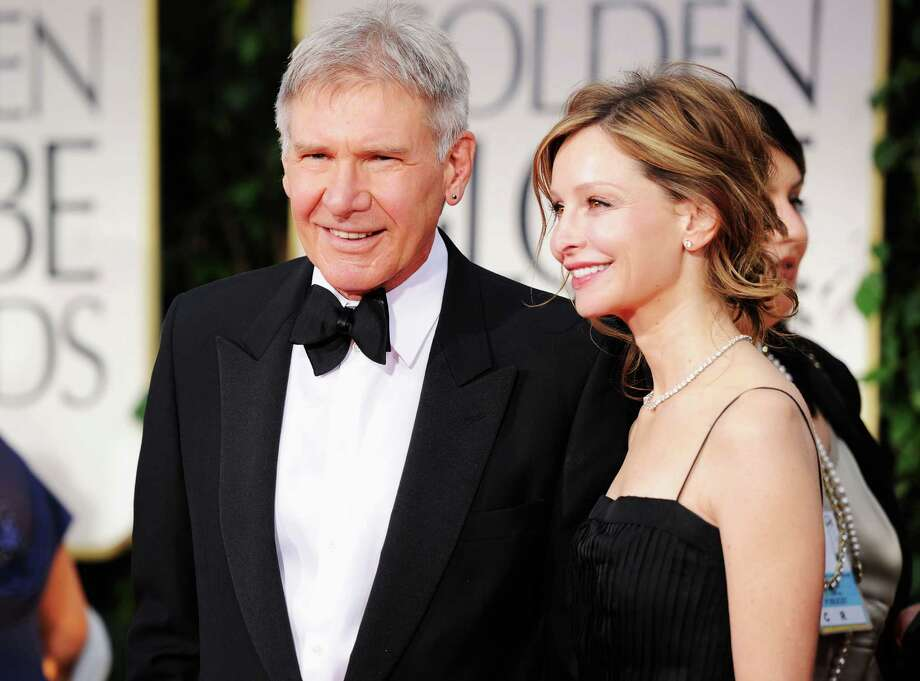 Actors Harrison Ford, 70, and Calista Flockhart, 49. They were married in 2010. Photo: Frazer Harrison, Getty Images / 2012 Getty Images