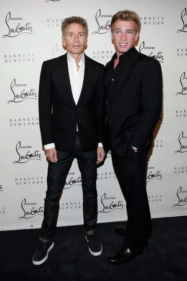 Designer Calvin Klein, 70 (left), and former boyfriend Nick Gruber, 22. They split up last year, with Gruber reportedly now at work on a 'tell-all' book about their relationship.  Photo: Cindy Ord, Getty Images / 2011 Getty Images