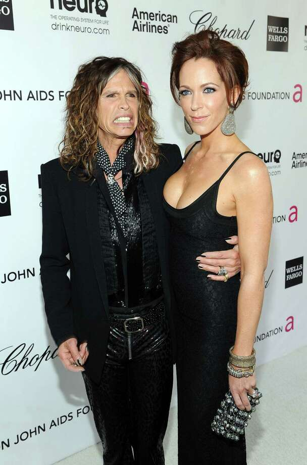Steven Tyler, 64, reportedly split up with fiancee Erin Brady, 39, in late 2012. Photo: Larry Busacca, Getty Images For EJAF / 2012 Getty Images
