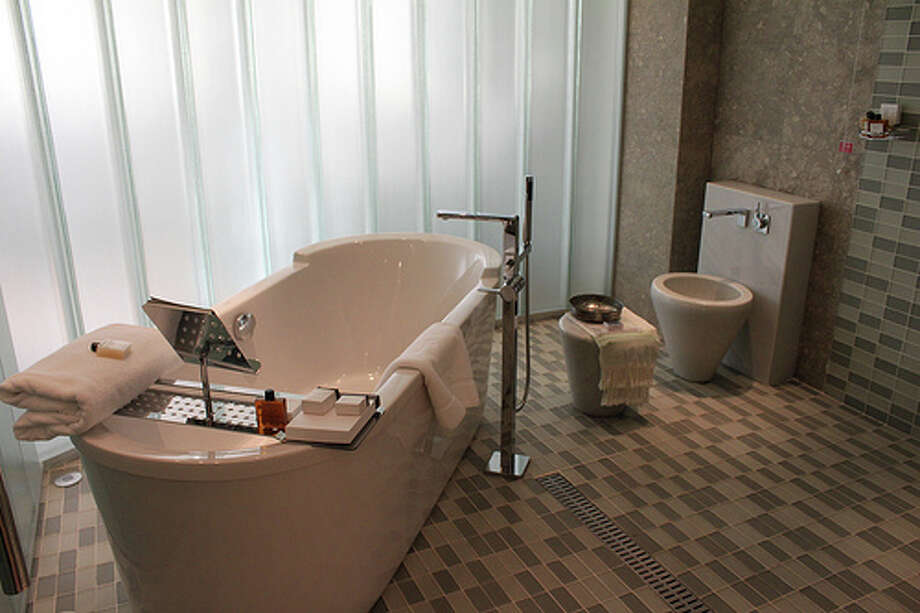 Bathroom improvements: A gorgeous bathroom can add plenty of value to your home. Photo: Leyla.a, FlickrSources:Bankrate.comandThe Learning Channel Photo: Flickr