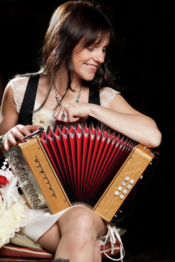 Irish accordionist Sharon Shannon plays at 8 p.m Friday at Old Songs Community Arts Center in Voorheesville. Click here for more information. (Courtesy Old Songs)