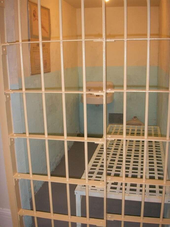 Replica of a cell on Alcatraz