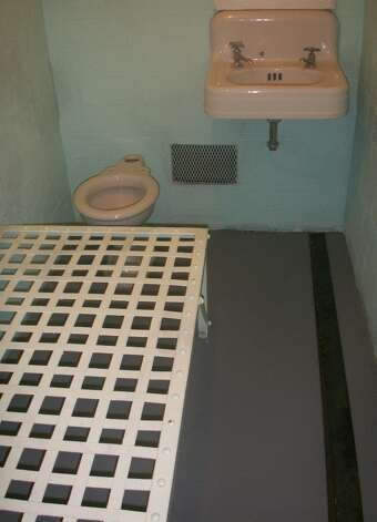 Replica of a cell on Alcatraz