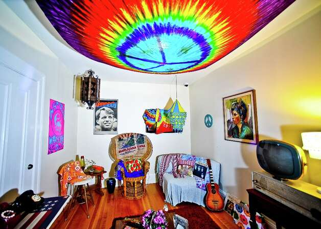 San Francisco History Museum hippie era room. Photo courtesy of Gino de Grandis. Photo: GINO_DEGRANDIS / Copyrighted@
