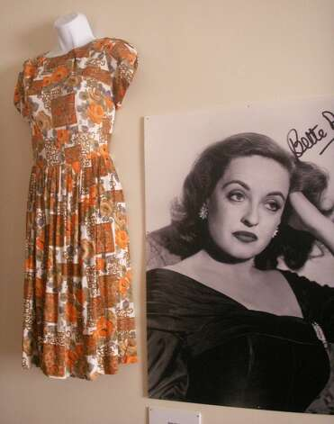 Bette Davis dress, from the personal collection of Barry Barsamian.