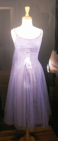 Elizabeth Taylor's dress, from the personal collection of Barry Barsamian.