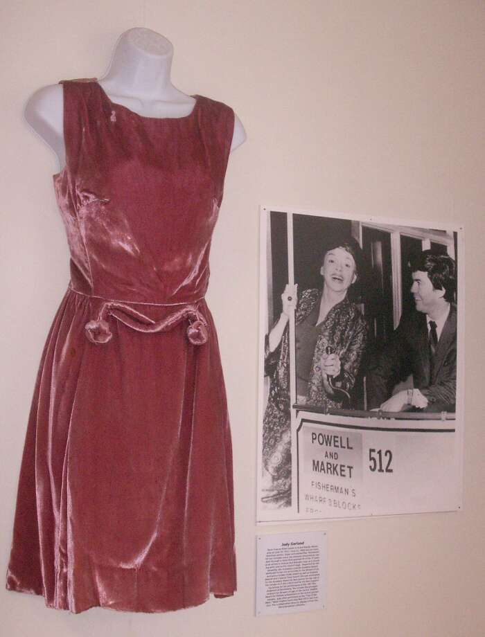 Judy Garland dress, from the collection of Barry Barsamian.