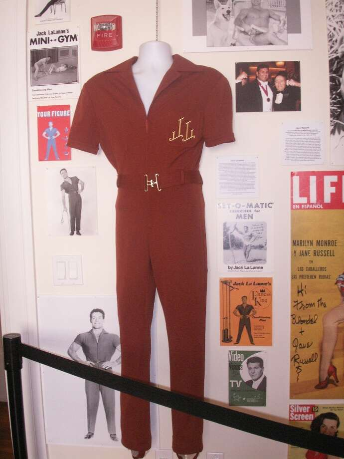 Jack LaLanne's work out jump suit, courtesy of Mrs. Jack LaLanne.