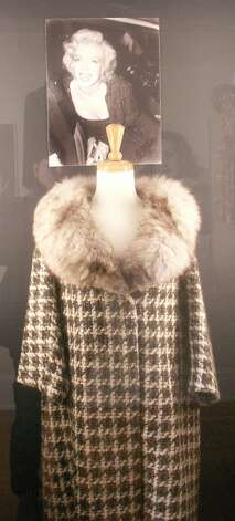 Marilyn Monroe's coat, from the collection of Barry Barsamian.