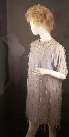 Phyllis Diller's dress, shoes, wig and cigarette holder, from the collection of Barry Barsamian.