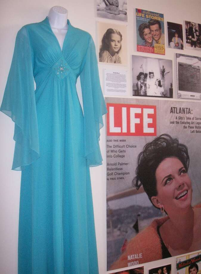 Natalie Wood's dress, from the collection of Barry Barsamian.