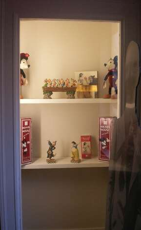 Disney collectibles, courtesy of Walt Disney Family Museum.