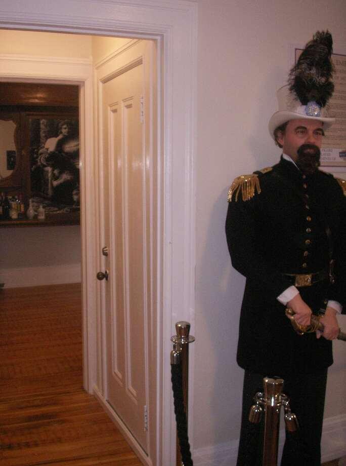 Wax figure of Emperor Norton, courtesy of the San Francisco Wax Museum at Fisherman's Wharf.