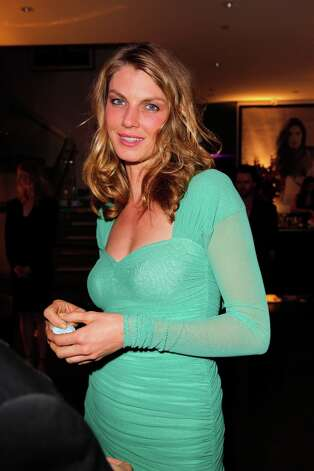 Model/actress Angela Lindvall attends Victoria's Secret SWIM 2013 Party hosted by Victoria's Secret angels Alessandra Ambrosio, Candice Swanepoel, and Karlie Kloss at a private residence on March 12, 2013 in Beverly Hills, California. Photo: Donato Sardella, WireImage / 2013 Donato Sardella