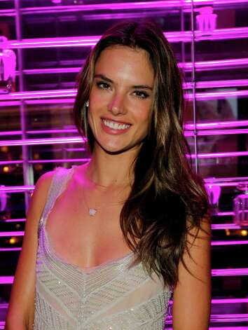 Model Alessandra Ambrosio attends Victoria's Secret SWIM 2013 Party hosted by Victoria's Secret angels Alessandra Ambrosio, Candice Swanepoel, and Karlie Kloss at a private residence on March 12, 2013 in Beverly Hills, California. Photo: Donato Sardella, WireImage / 2013 Donato Sardella