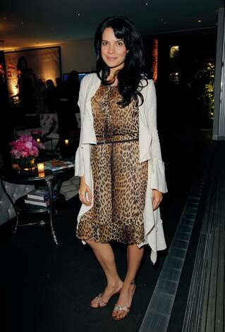 Actress Zuleikha Robinson attends Victoria's Secret SWIM 2013 Party hosted by Victoria's Secret angels Alessandra Ambrosio, Candice Swanepoel, and Karlie Kloss at a private residence on March 12, 2013 in Beverly Hills, California. Photo: Donato Sardella, WireImage / 2013 Donato Sardella