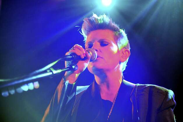 Natalie Maines, lead singer of the Dixie Chicks, will be at Central Presbyterian Church late Friday. Photo: Getty Images