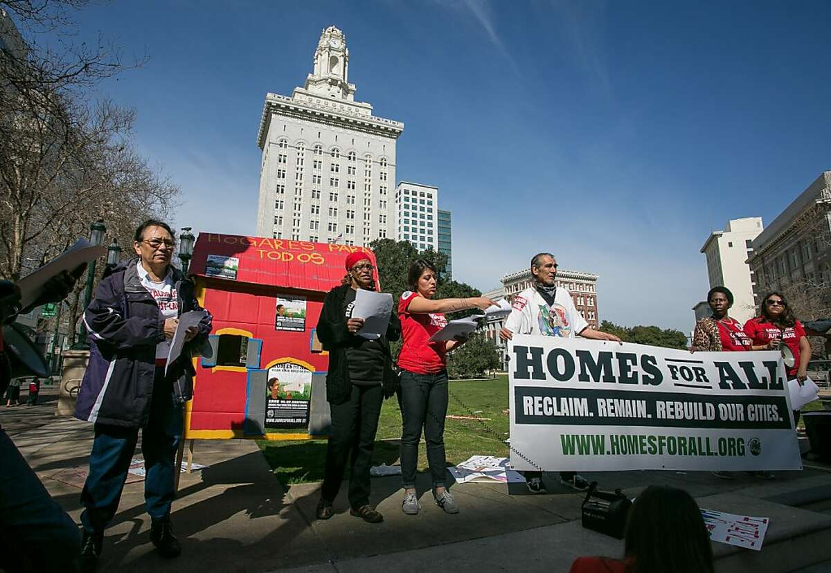 Homeowners and tenants affected by foreclosures launch the