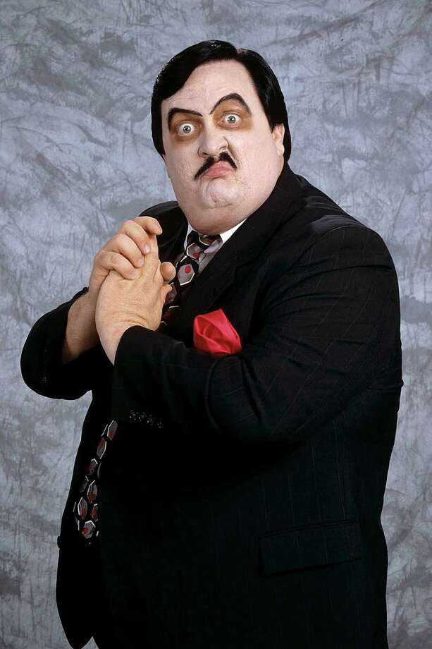 This undated photo released Wednesday, March 6, 2013, by WWE, Inc. shows William Moody, aka Paul Bearer, the pasty-faced, urn-carrying manager for performers The Undertaker and Kane. A spokesman for the wrestling circuit said Moody's family contacted the WWE to report his death on Tuesday, March 5, 2013. He was 58. No cause was released. (AP Photo/WWE Inc.) Photo: Uncredited, HOEP / WWE, Inc.