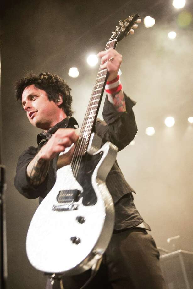 Vocalist / guitarist Billie Joe Armstrong of Green Day performs at Fox Theater on March 10, 2013 in Pomona, California. Photo: Chelsea Lauren, WireImage / 2013 Chelsea Lauren