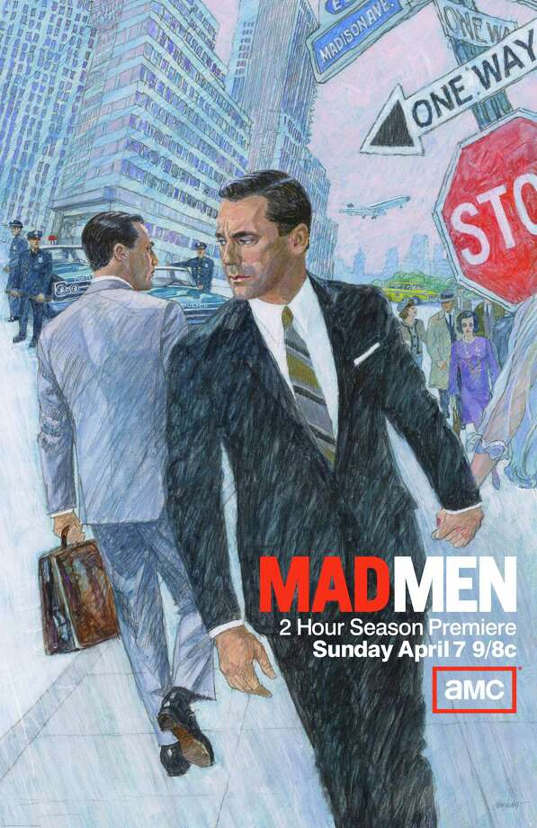 In the five seasons that ?Mad Men? has been on television, that celebrated series set in the art-directed world of 1960s advertising has never marketed itself the way a ?60s ad man most certainly would have: by calling in a hotshot illustrator to do the job. But as the show prepared for its new season, which begins April 7, it  found Brian Sanders. Photo: Amc