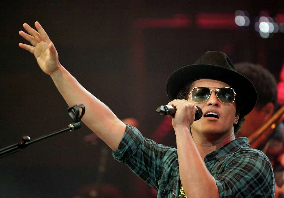 """When I Was Your Man"" by Bruno Mars Photo: James Nielsen, Staff / © 2013  Houston Chronicle"