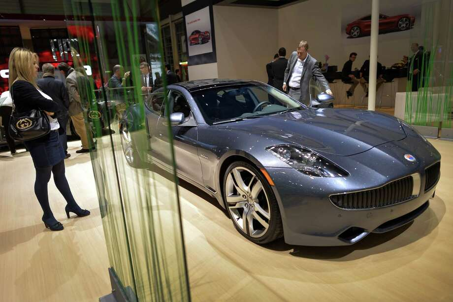 In 2007, Henrik Fisker co-founded Fisker Automotive, which makes the Karma, above. Photo: FABRICE COFFRINI, Staff / AFP