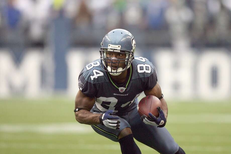 BOBBY ENGRAM| wide receiver | signed in 2001-- Previous team: Chicago Bears (5 years)The Seahawks signed him in 2001 after five decent years in Chicago, and Engram became a key part of Seattle's offense in the 2000s. He led the team with 67 receptions in 2005 when the Seahawks went to Super Bowl XL, and continued to produce through the 2008 season. He holds the team record of most pass receptions in a single season with 94 in 2007.