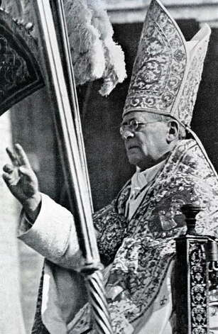 Pius XIElected Feb. 6, 1922.Dow closed up 0.09 points to 83.70. Photo: Popperfoto, Popperfoto/Getty Images / Popperfoto
