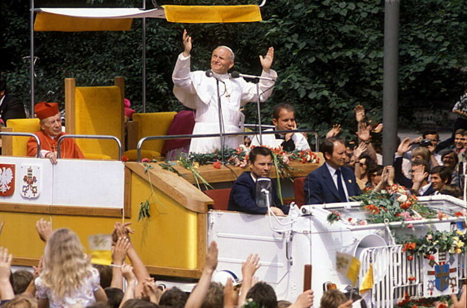 John Paul IIElected October 16, 1978Dow closed down 21.92 points to 875.17. Photo: UniversalImagesGroup, UIG Via Getty Images / Universal Images Group Editorial