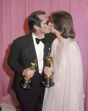 Jack Nicholson and Louise Fletcher. Photo: Ron Galella, Getty / Ron Galella Collection