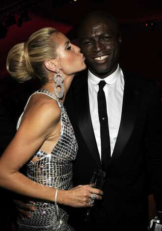 Model Heidi Klum and singer Seal attend the 16th Annual Elton John AIDS Foundation Academy Awards viewing party at the Pacific Design Center on Feb. 24, 2008 in West Hollywood, Calif. Photo: Kevin Mazur, Getty / 2008 Kevin Mazur