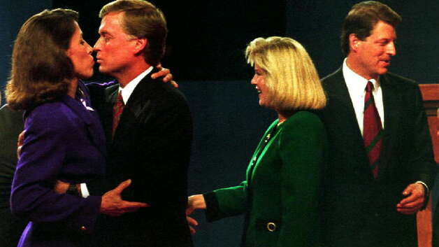 Vice President Dan Quayle and his wife Marilyn tried it in 1992. Photo: DAVID AKE, Getty / AFP