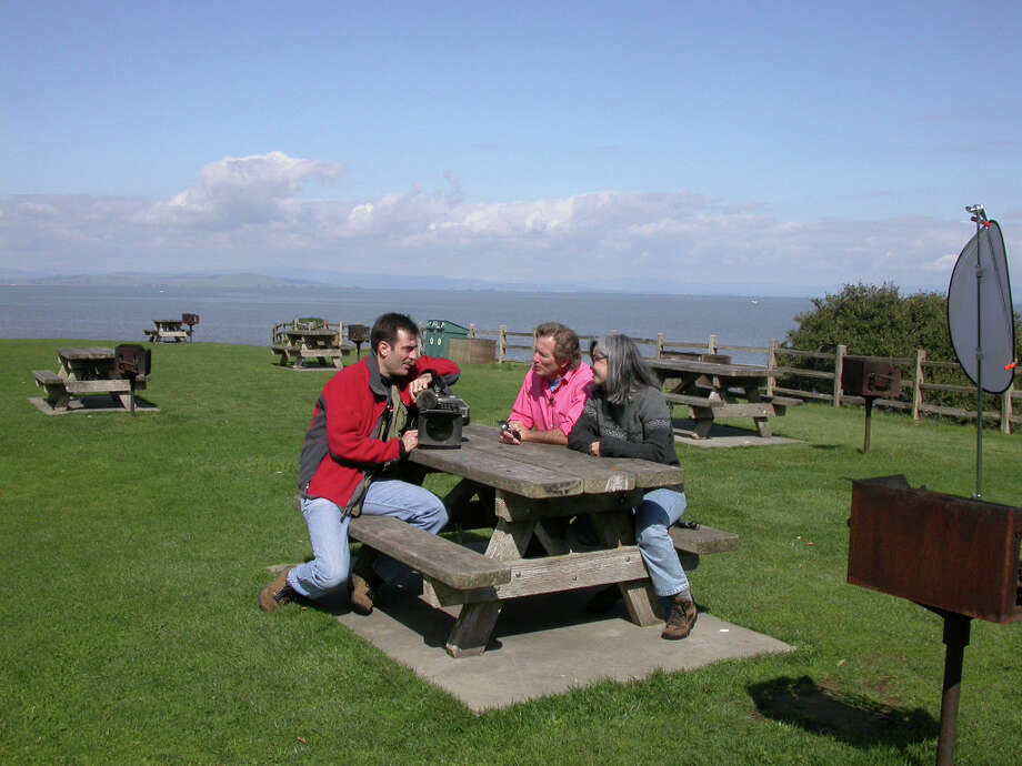 Recognize my buddy Doug McConnell? We were at the picnic site with Big Jack at China Camp