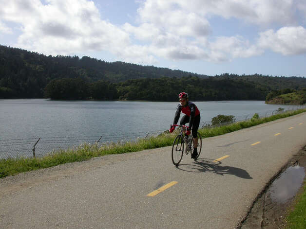 Sawyer Camp Trail along Crystal Springs is one of the best bike routes around