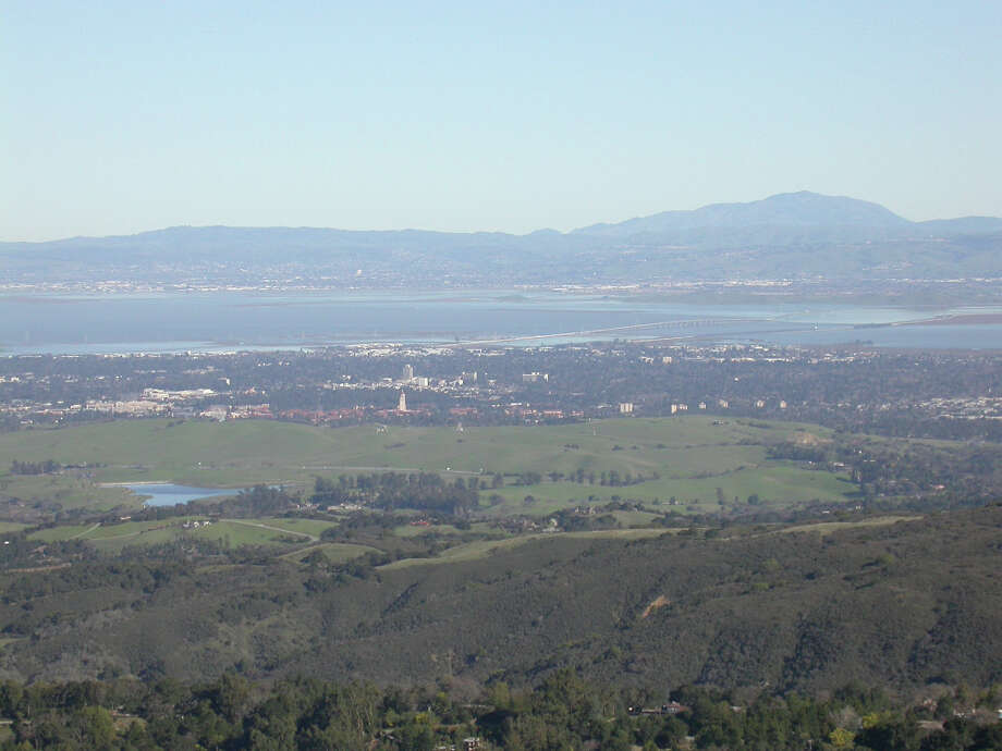 View from Coal Creek Open Space Preserve towers over South Bay