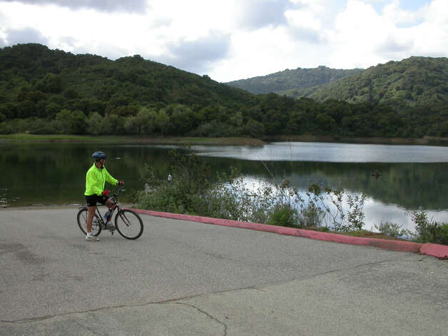 Stevens Creek Reservoir makes good launch spot for biking